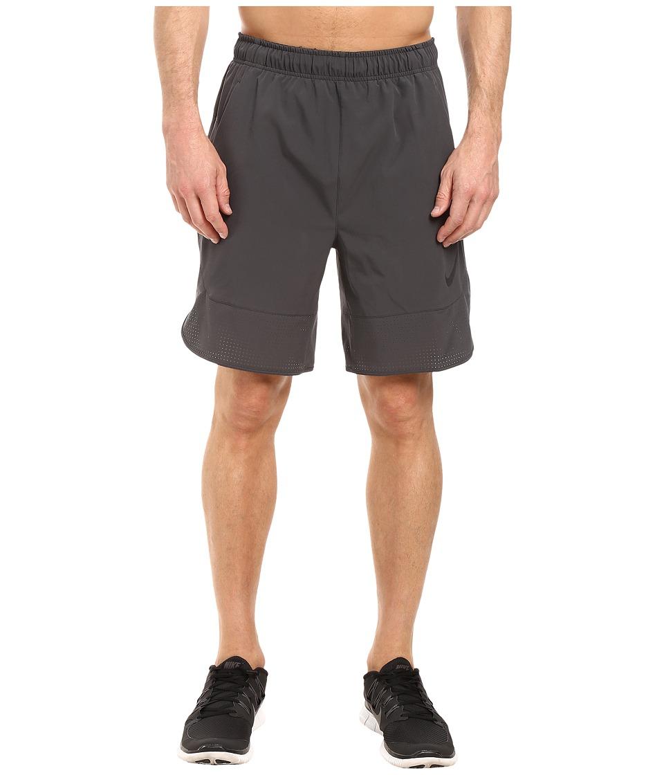 Nike - Flex 8 Shorts (Anthracite/Black) Men's Shorts