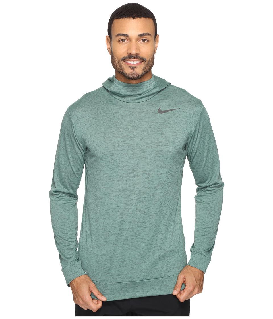 Nike - Dry Training Hoodie (Seaweed/Green Stone/Black) Men's Clothing