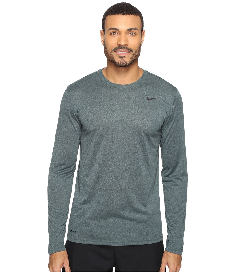 Nike - Legend 2.0 Long Sleeve Tee (Seaweed/Cannon/Black) Men's T Shirt