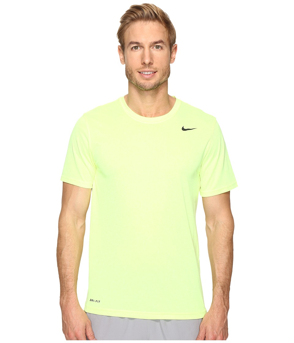 Nike - Legend 2.0 Short Sleeve Tee (Volt/White/Black/Black) Men's T Shirt