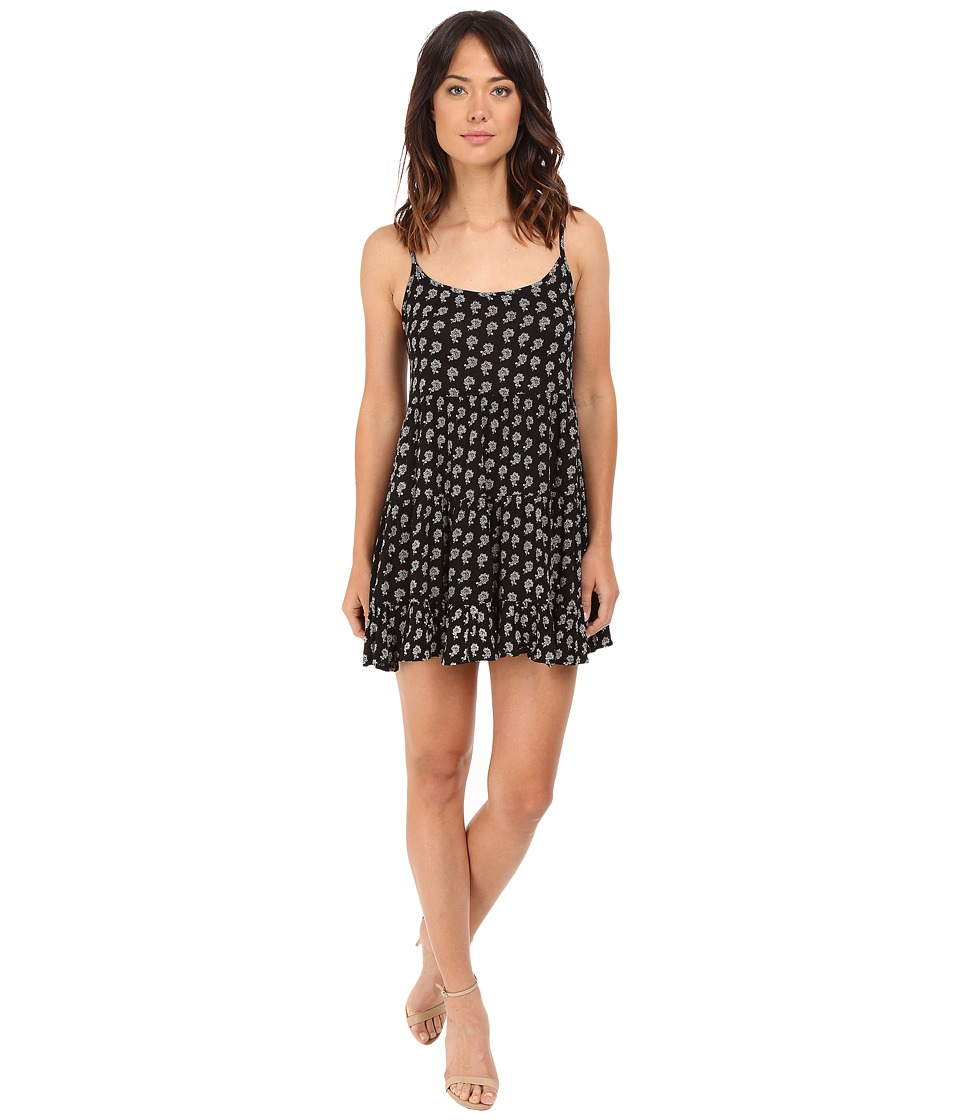 Brigitte Bailey - Janeah Spaghetti Strap Dress (Black/Cream) Women's Dress