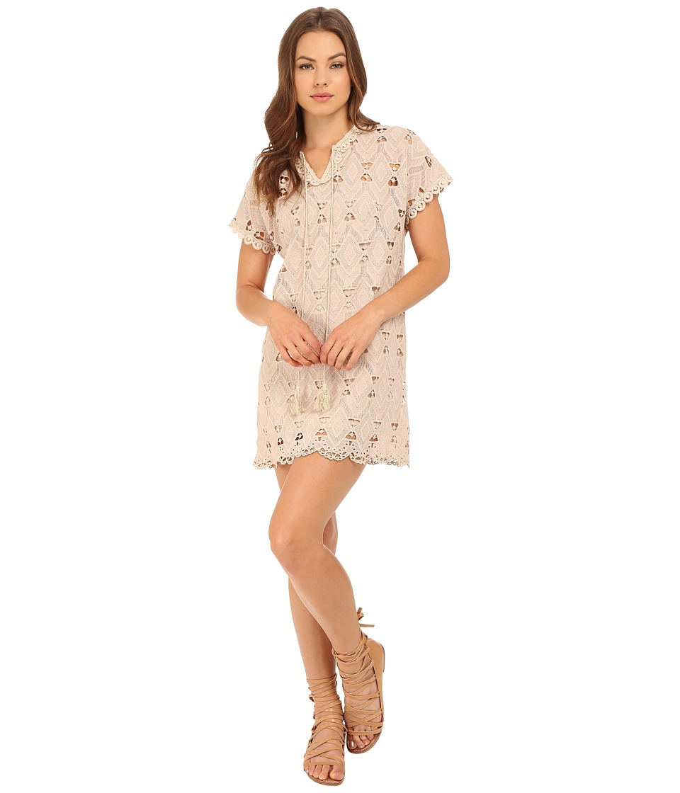 Brigitte Bailey Xandra Short Sleeve Lace Dress