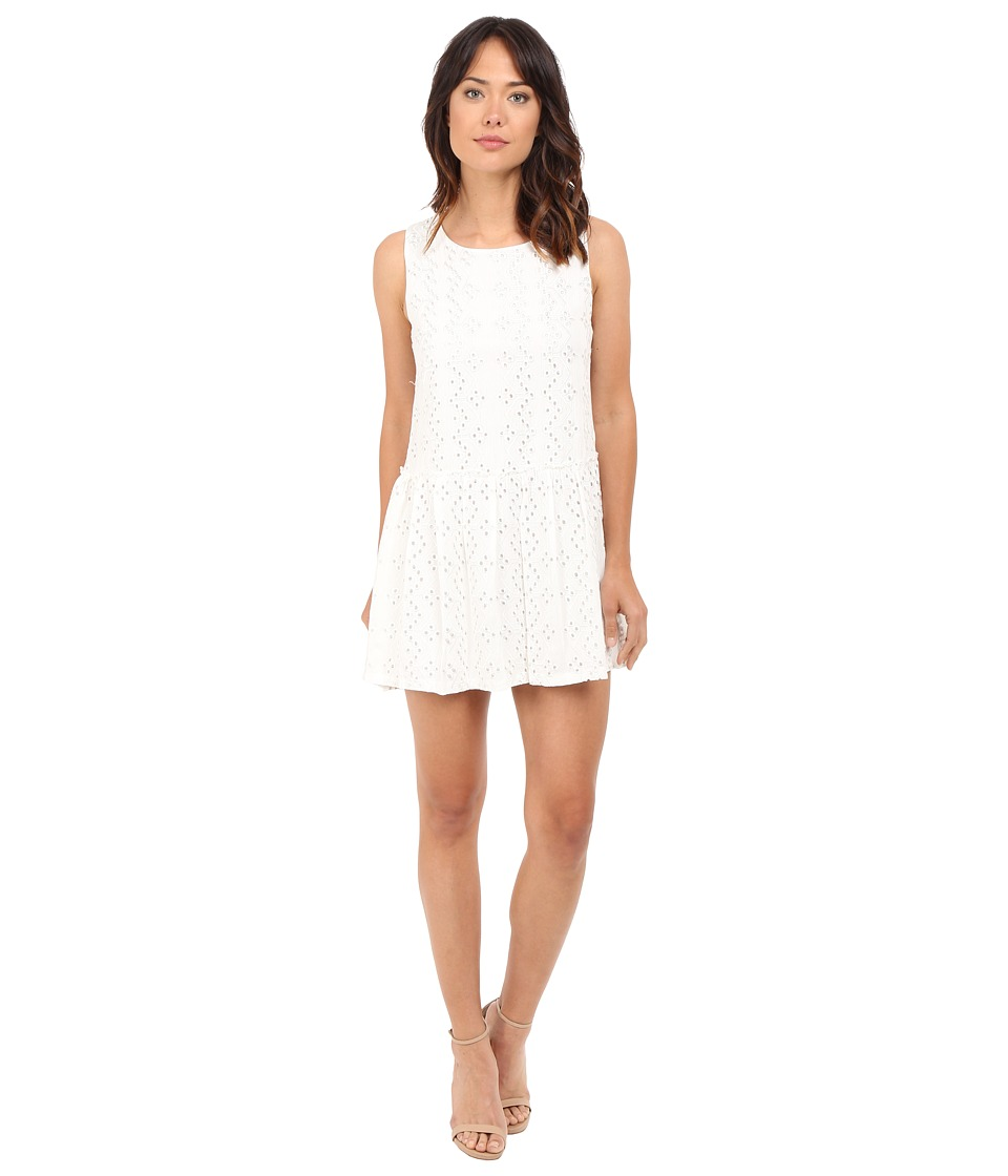 Brigitte Bailey - Katriona Sleeveless Eyelet Dress (White) Women's Dress