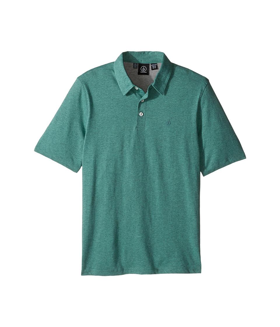 Volcom Kids - Wowzer Polo (Big Kids) (Sage) Boy's Short Sleeve Pullover