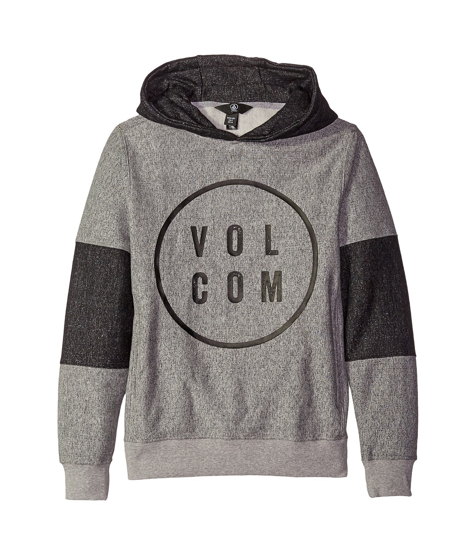 Volcom Kids - Formation Pullover (Big Kids) (Heather Grey) Boy's Clothing