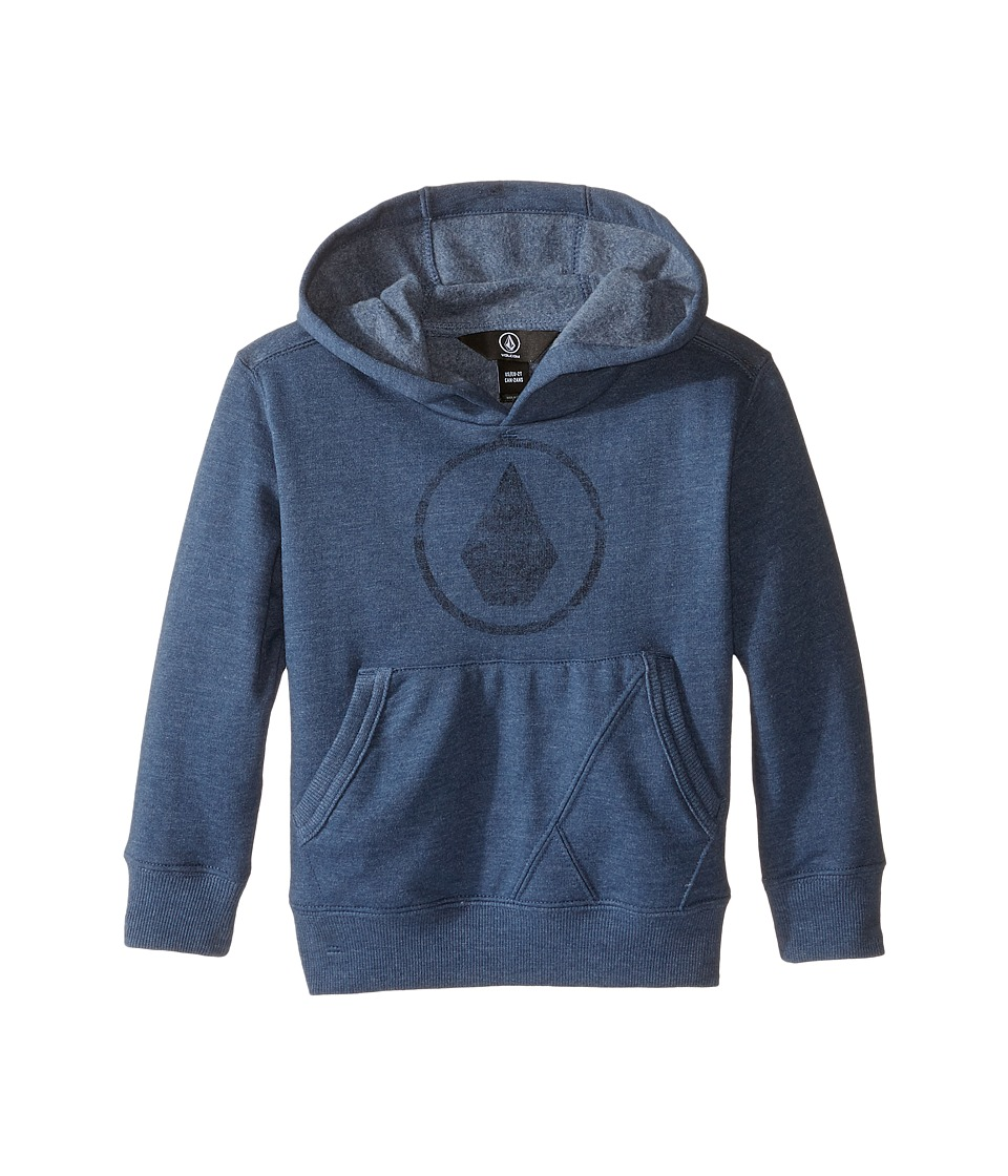 Volcom Kids - Steelhead Pullover (Toddler/Little Kids) (Smokey Blue) Boy's Long Sleeve Pullover