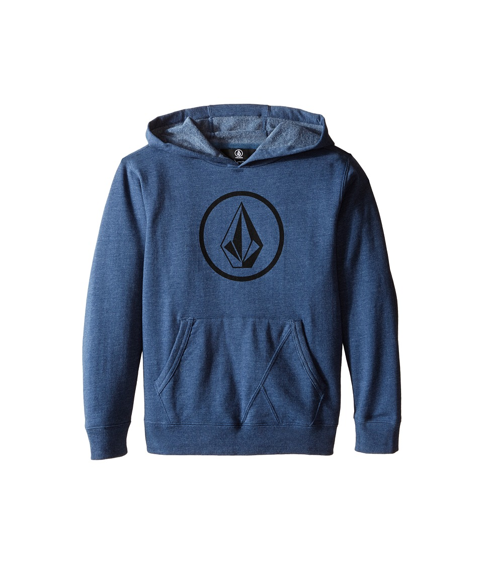 Volcom Kids - Stone Pullover (Toddler/Little Kids) (Smokey Blue 2) Boy's Sweatshirt