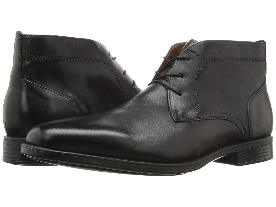 Johnston & Murphy XC4 Waterproof Branning Chukka (Black Waterproof Calfskin) Men
