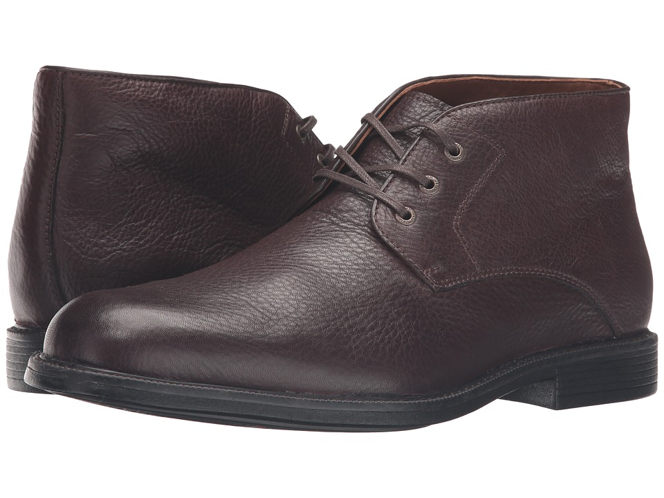Johnston & Murphy - XC4 Waterproof Cardell Chukka (Brown Waterproof Tumbled Full Grain) Men's Lace-up Boots