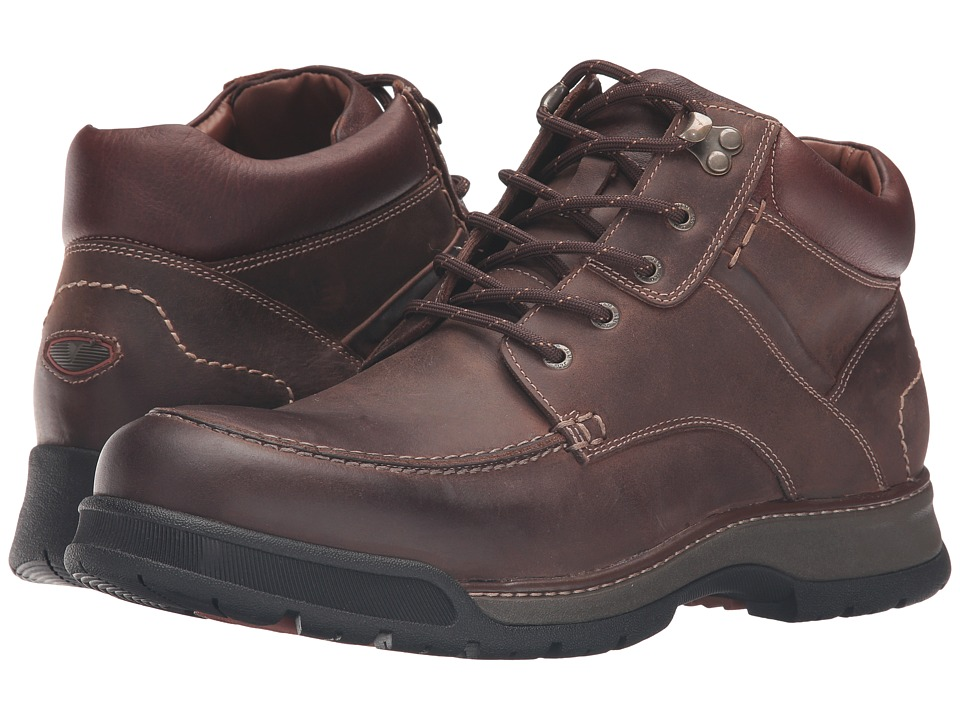 Johnston & Murphy - XC4 Waterproof Thompson Moc Toe Boot (Tan Oiled Waterproof Full Grain) Men's Lace-up Boots