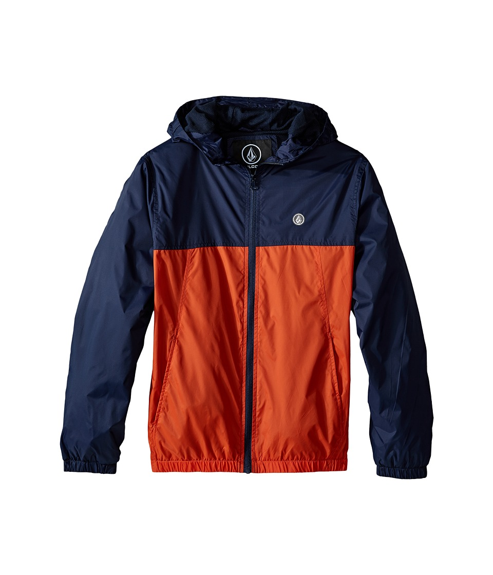 Volcom Kids - Ermont Jacket (Big Kids) (Navy) Boy's Coat