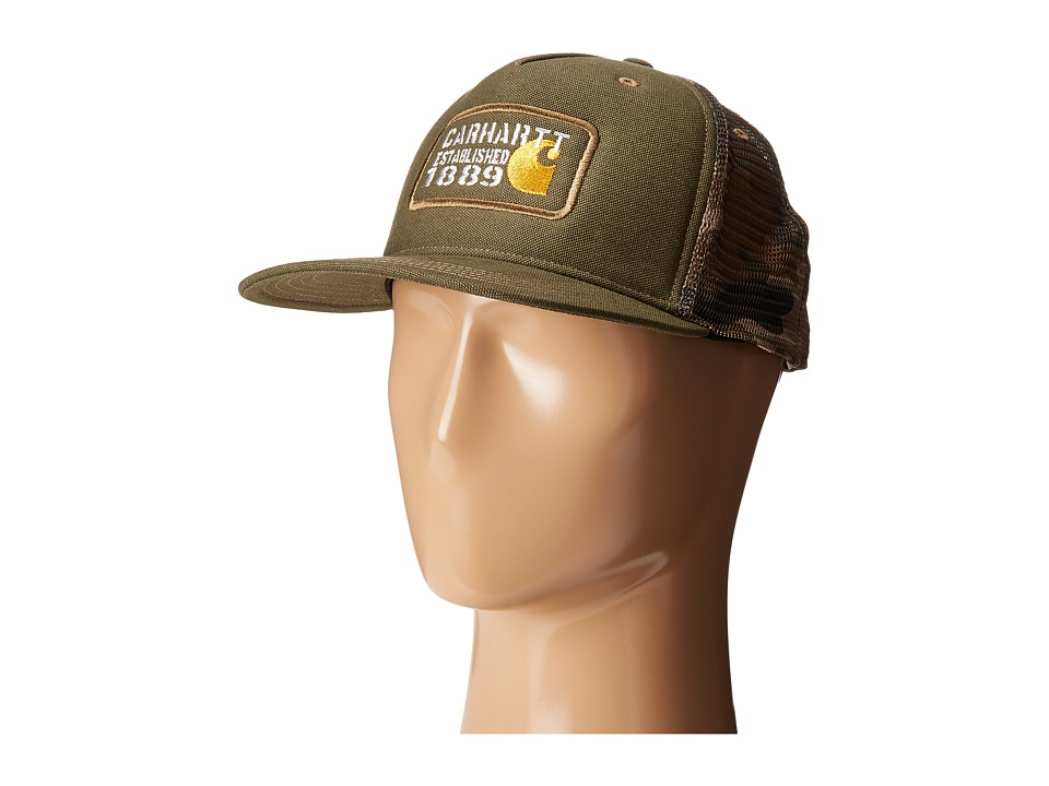 Carhartt - Gaines Cap (Army Green) Baseball Caps