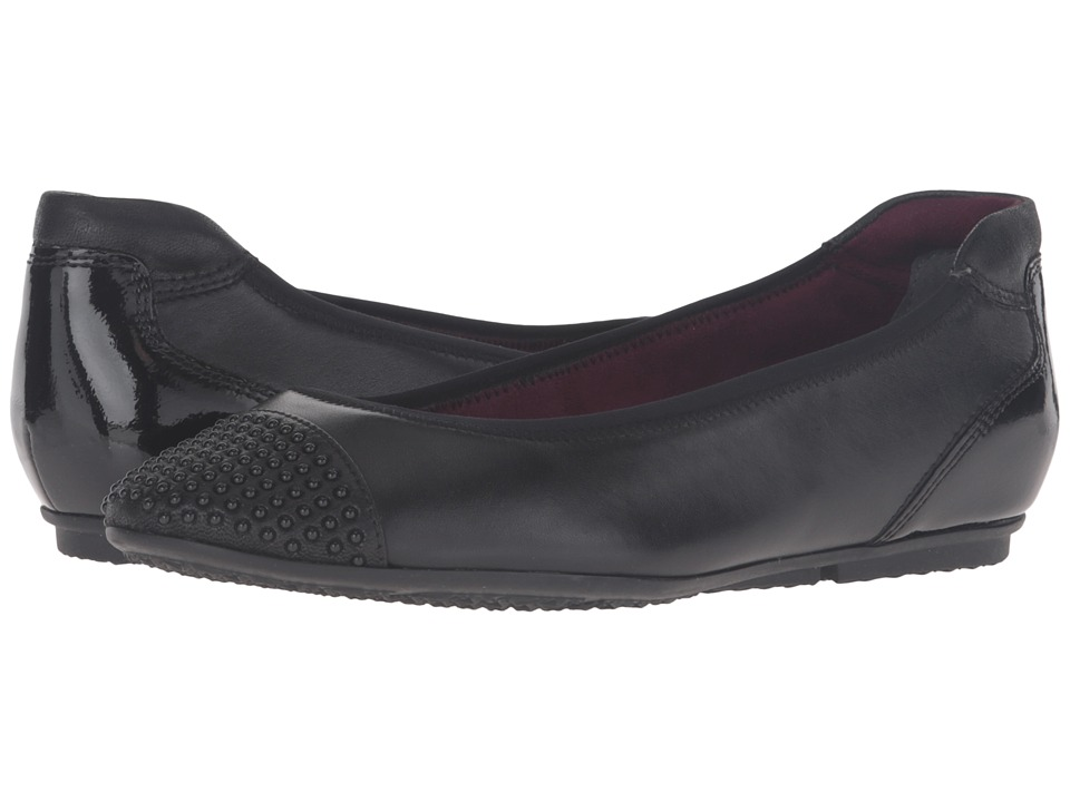 Tamaris - Joya 1-1-22103-27 (Black) Women's Slip on Shoes