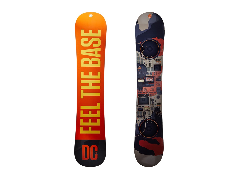 DC - PBJ '17 155W (Multi) Snowboards Sports Equipment