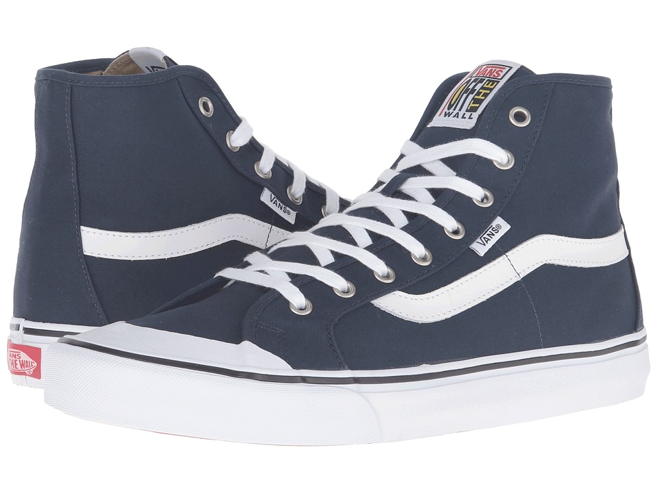Vans - Black Ball Hi SF (Dress Blues/True White) Men's Shoes