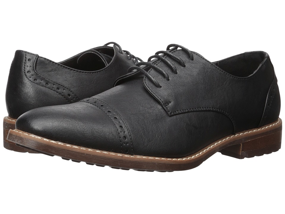 Steve Madden - Atkin (Black) Men's Shoes