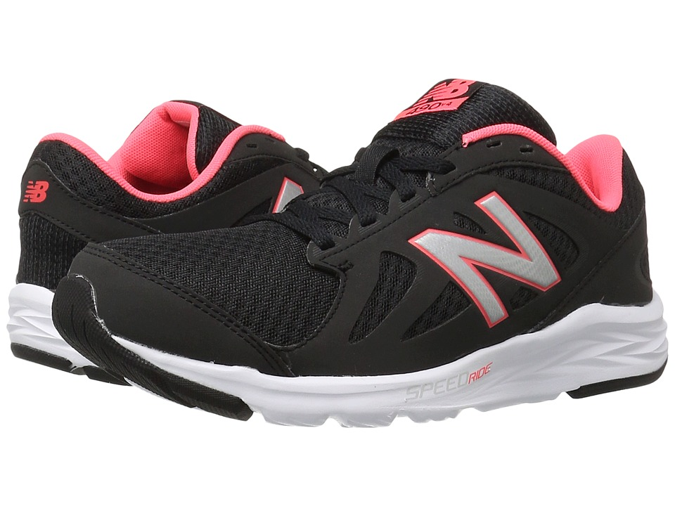 New Balance - W490LB4 (Black/Guava) Women's Shoes