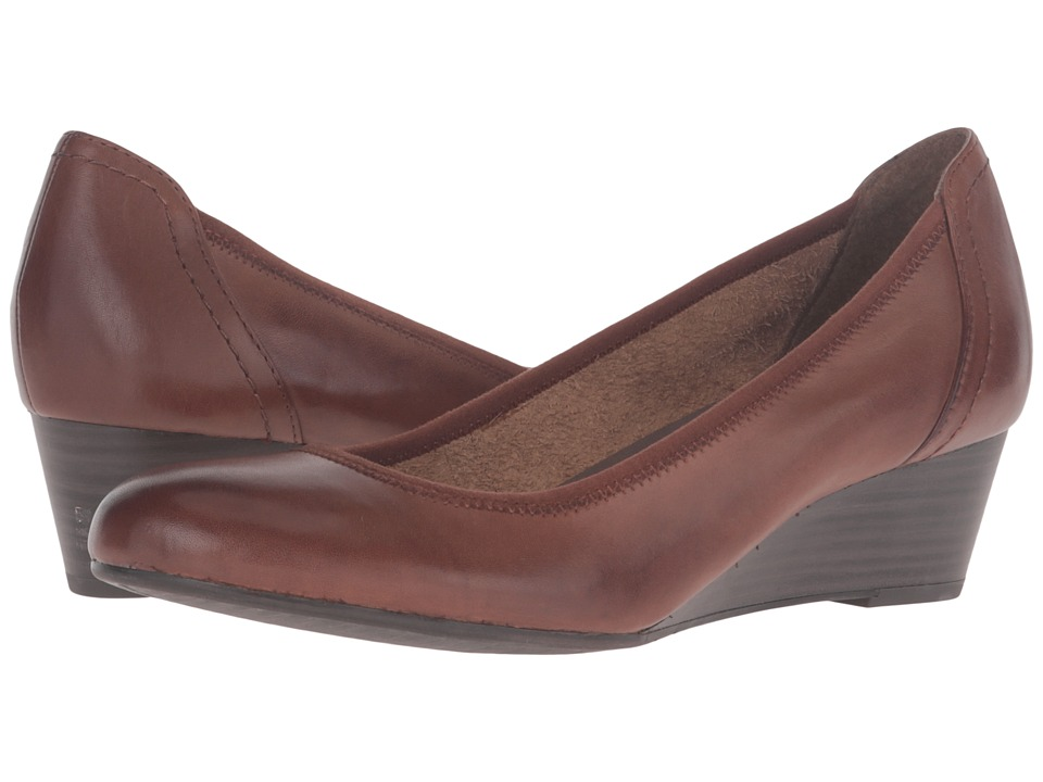 Tamaris - Borage 1-1-22320-27 (Muscat) Women's Wedge Shoes