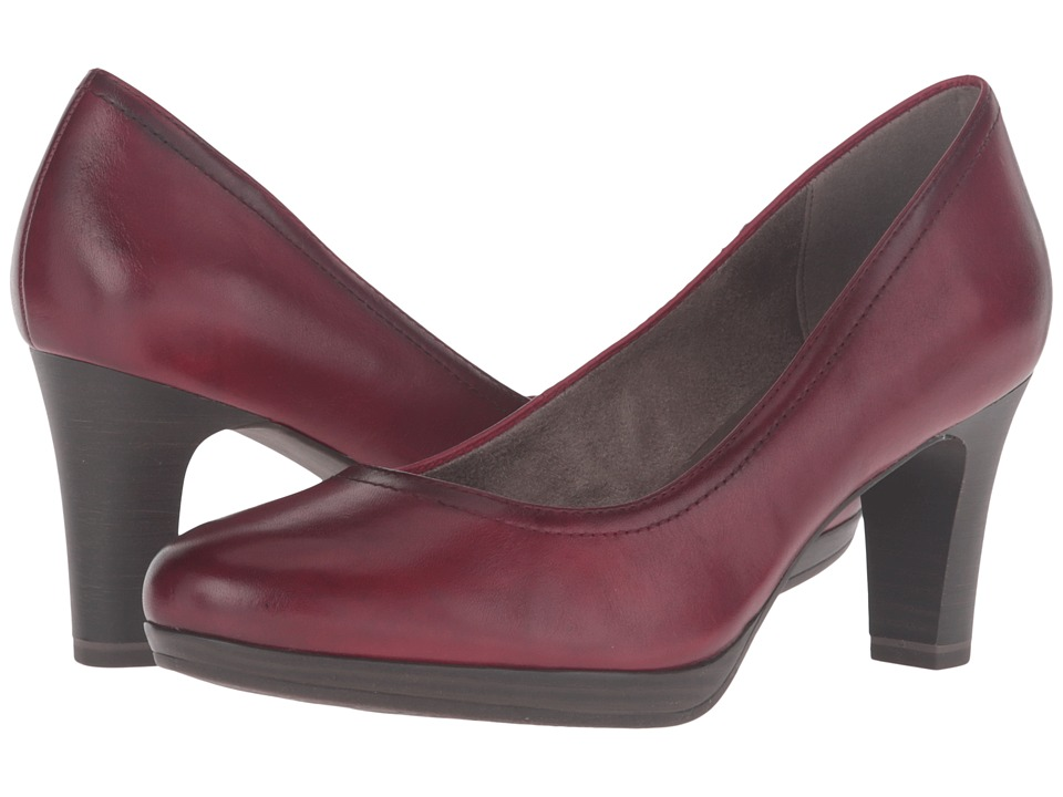 Tamaris - Zealot 1-1-22410-27 (Bordeaux) Women's 1-2 inch heel Shoes