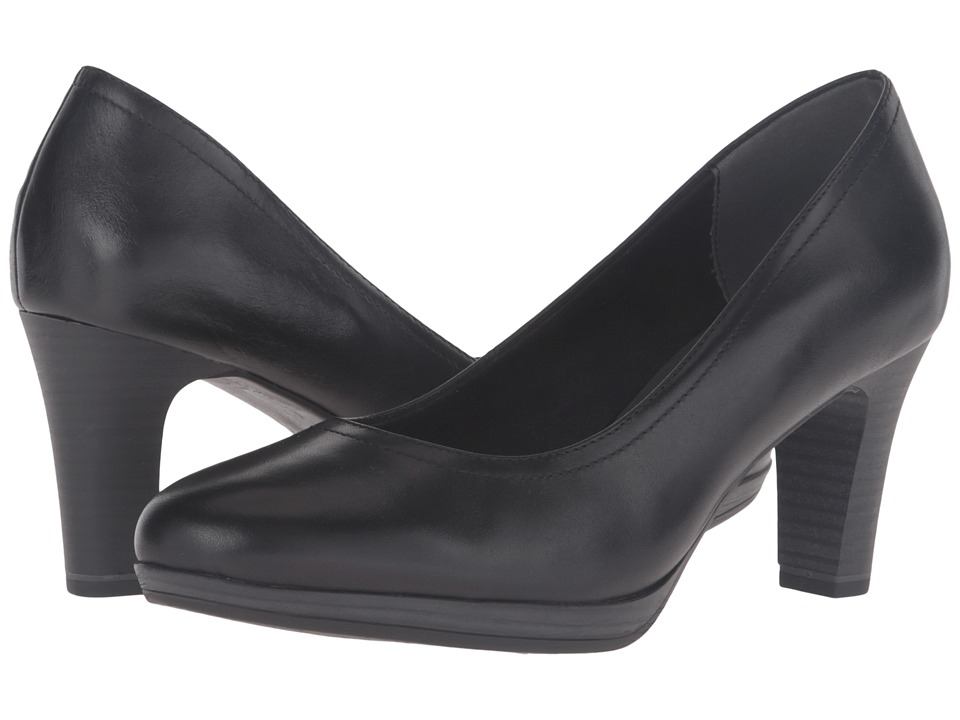 Tamaris - Zealot 1-1-22410-27 (Black) Women's 1-2 inch heel Shoes