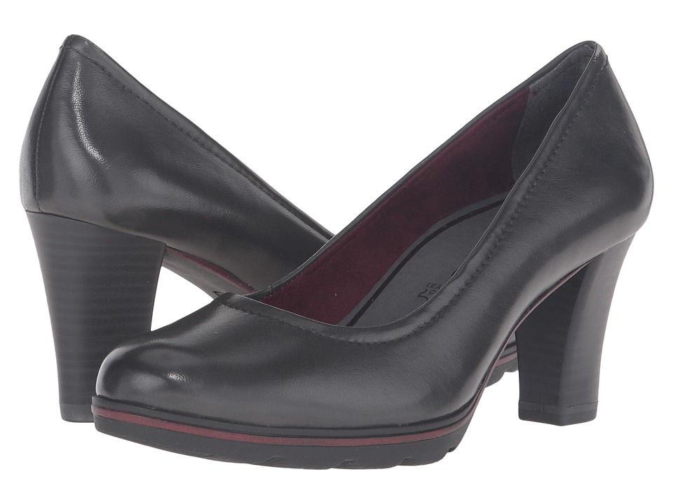 Tamaris - Fee 1-1-22425-27 (Anthracite) Women's 1-2 inch heel Shoes