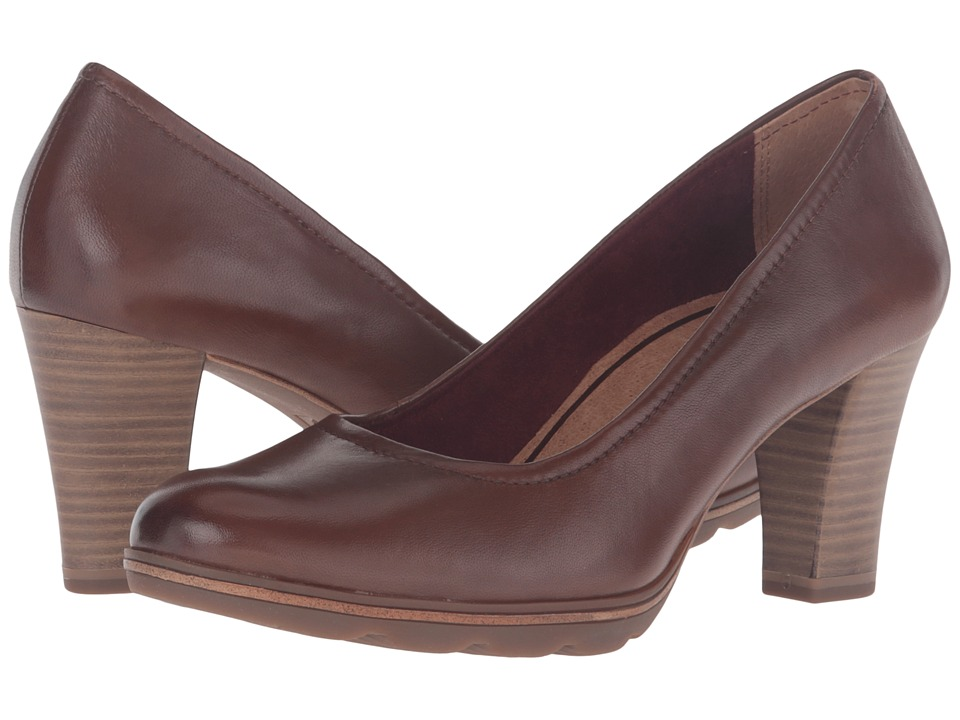 Tamaris - Fee 1-1-22425-27 (Muscat) Women's 1-2 inch heel Shoes