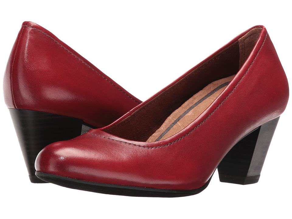 Tamaris - Nahla 1-1-22408-27 (Scarlet) Women's 1-2 inch heel Shoes