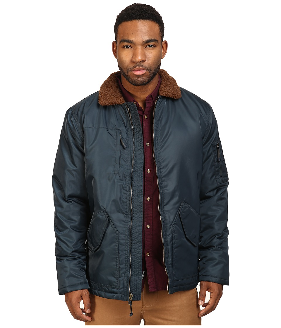 Brixton - Colstrip Jacket (Captain Blue) Men's Coat