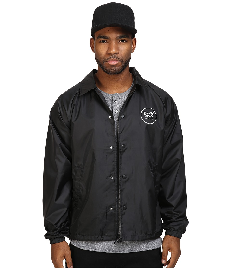 Brixton - Wheeler Jacket (Black) Men's Coat