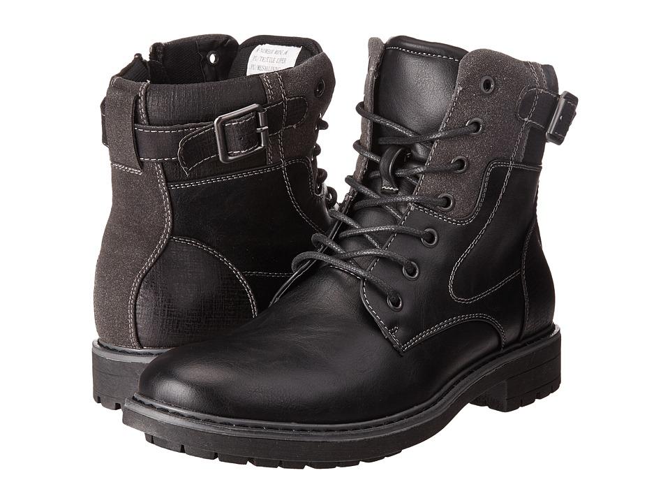 Steve Madden - Number (Black) Men's Shoes