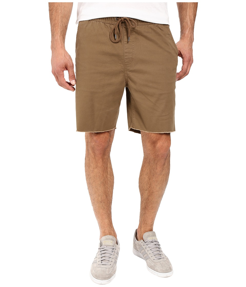 Brixton - Madrid Shorts (Dark Khaki) Men's Shorts