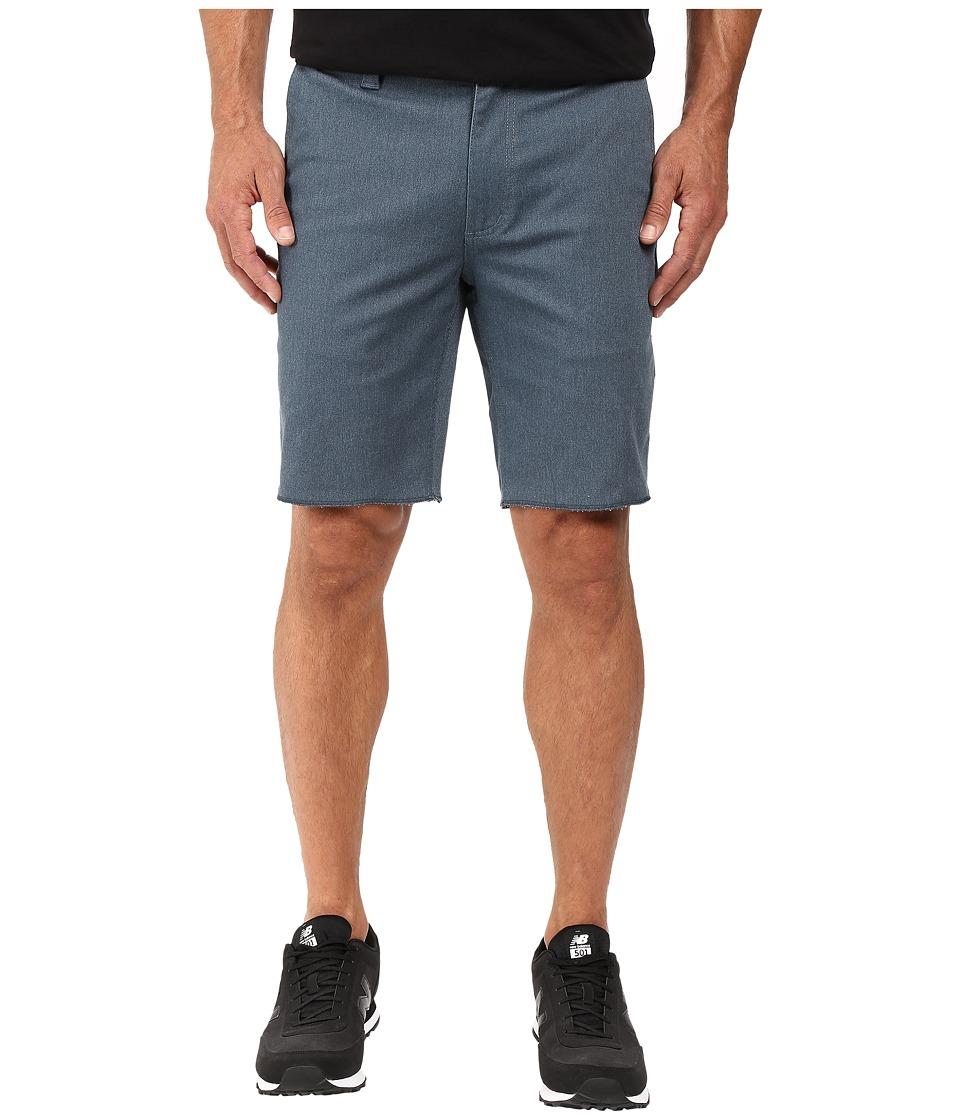 Brixton - Toil II Shorts (Heather Steel) Men's Shorts