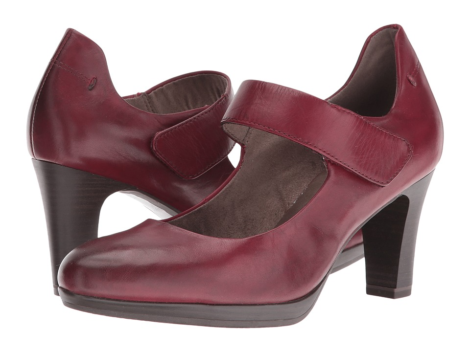 Tamaris - Zealot 1-1-24401-27 (Bordeaux Leather) Women's Shoes