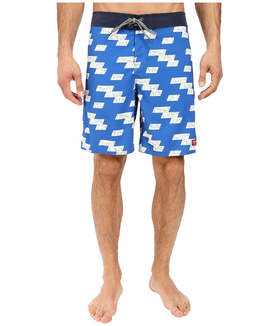 Brixton - Barge Trunks (Royal/Navy) Men's Swimwear