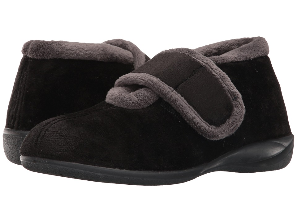 Foamtreads - Magdalena (Black) Women's Slippers