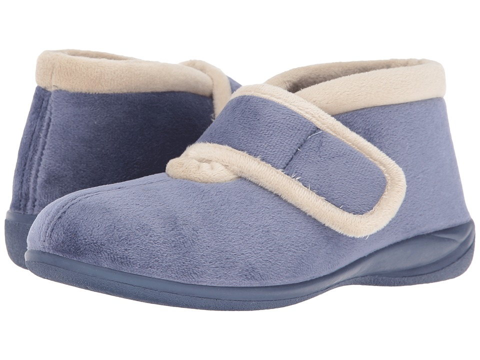 Foamtreads - Magdalena (Blue) Women's Slippers