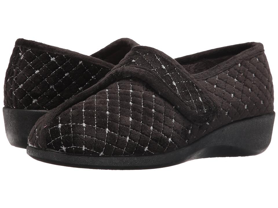 Foamtreads - Katla (Black) Women's Slippers