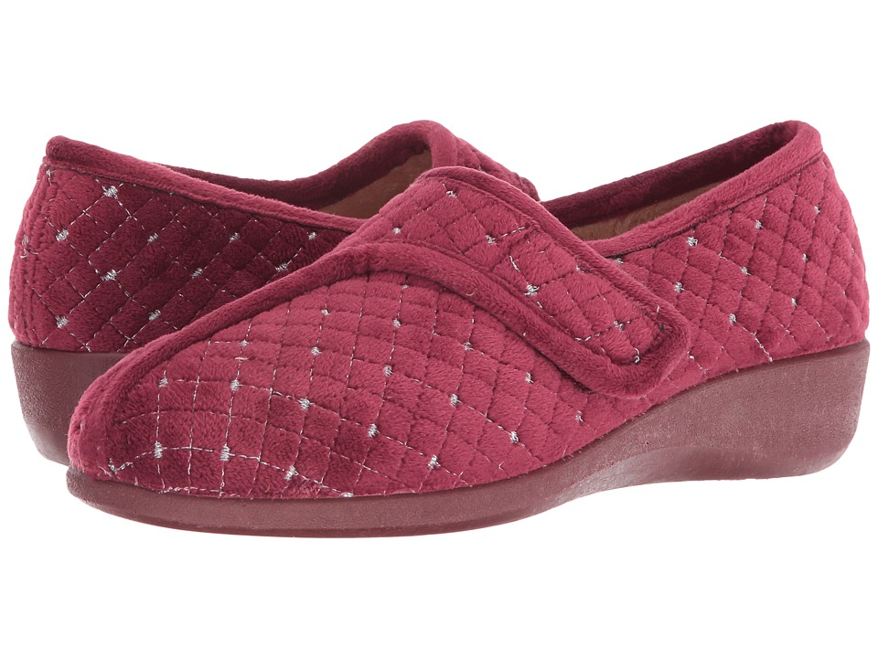 Foamtreads - Katla (Burgundy) Women's Slippers