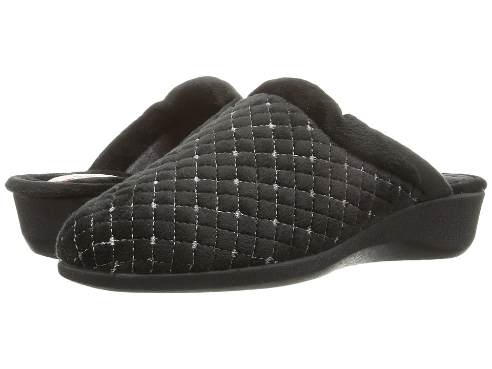 Foamtreads - Pearl (Black) Women's Slippers