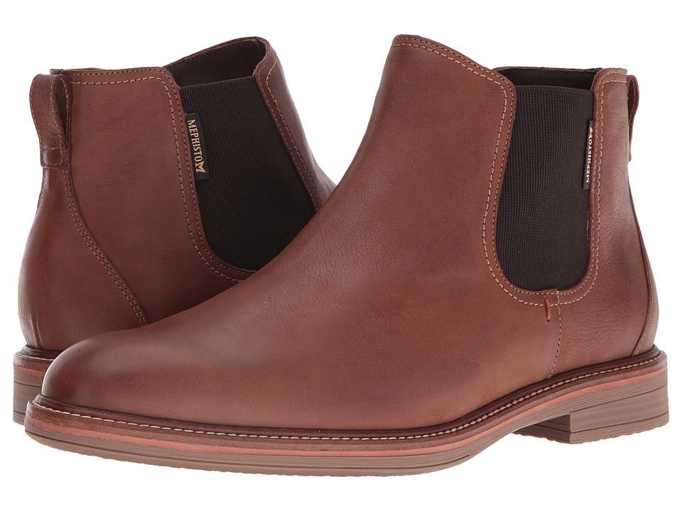 Mephisto - Willem (Hazelnut Kansas) Men's Pull-on Boots