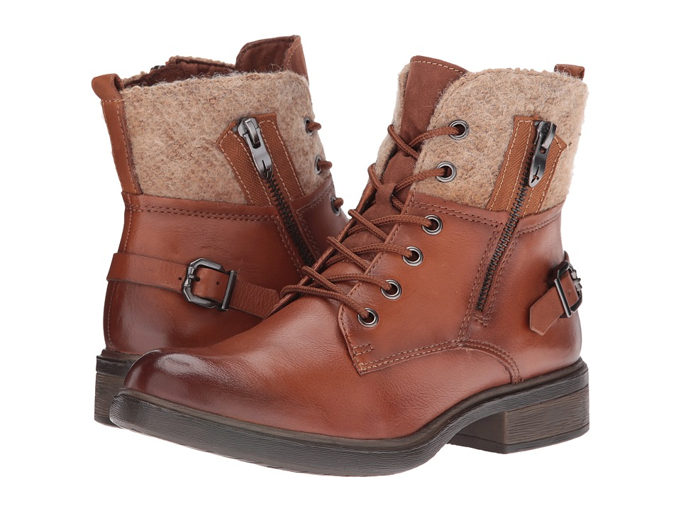 Tamaris - Helios 1-1-25110-27 (Cognac) Women's Boots