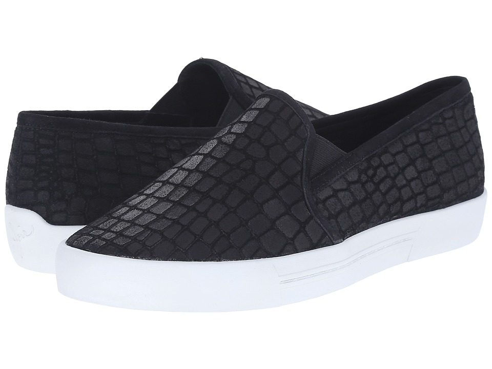 Joie - Huxley (Black/White) Women's Slip on Shoes