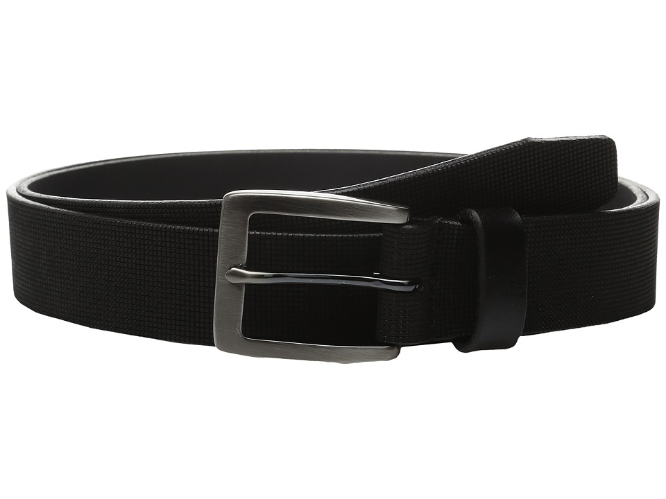 Johnston & Murphy - Perfed Casual (Gray) Men's Belts