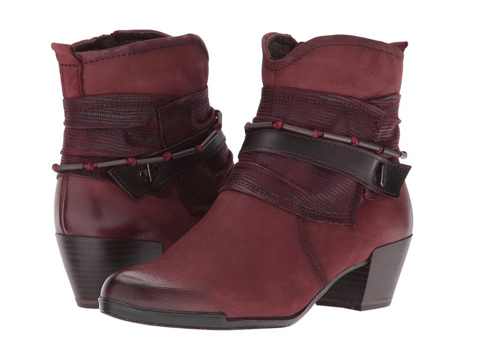 Tamaris - Ocimum 1-1-25349-27 (Bordeaux Combo) Women's Boots