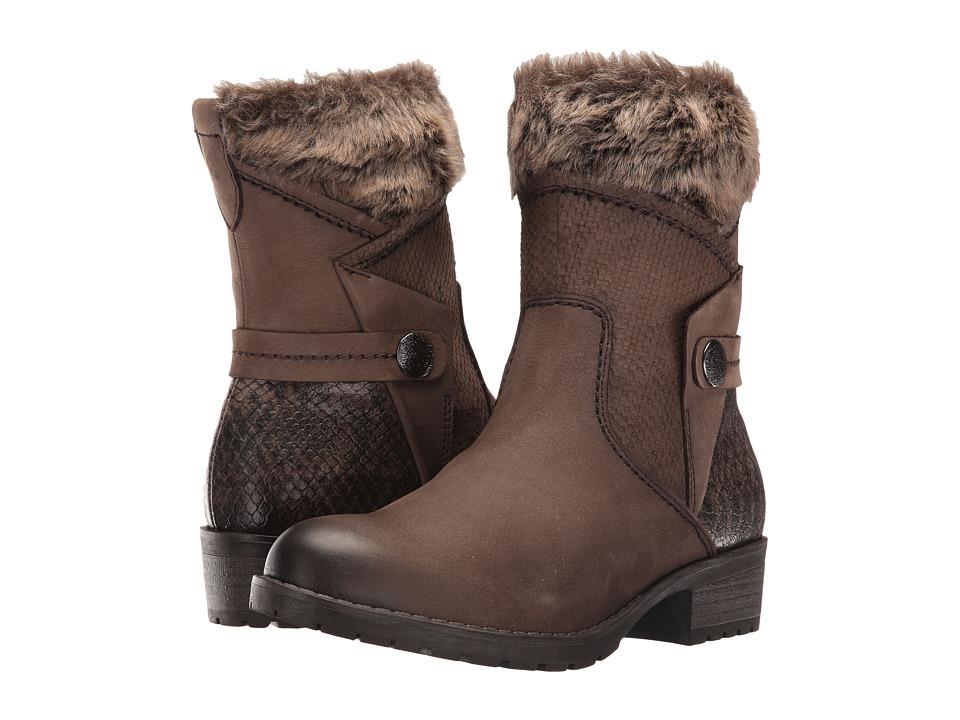 Tamaris - Parai 1-1-25363-27 (Cigar Combo) Women's Boots