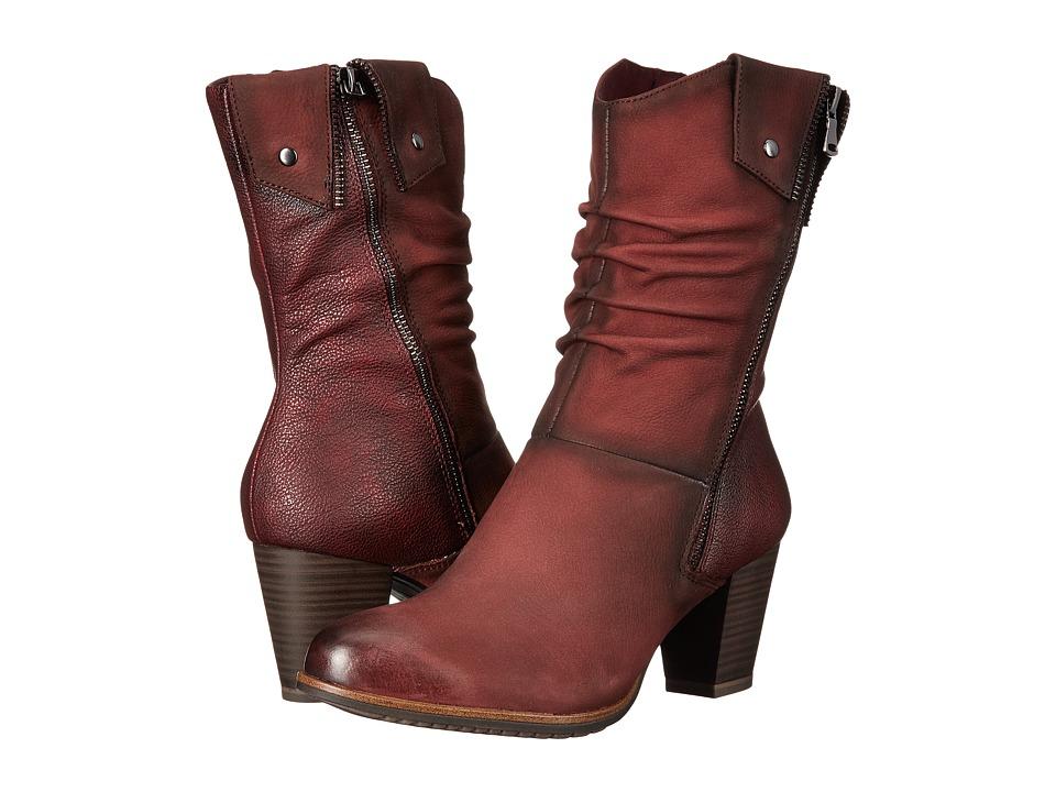 Tamaris - Vista 1-1-25356-27 (Bordeaux) Women's Boots