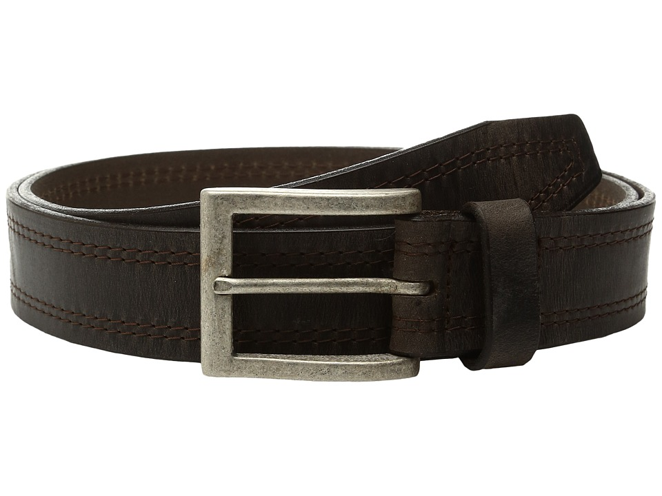 Johnston & Murphy - Center Stitch Casual (Tan) Men's Belts