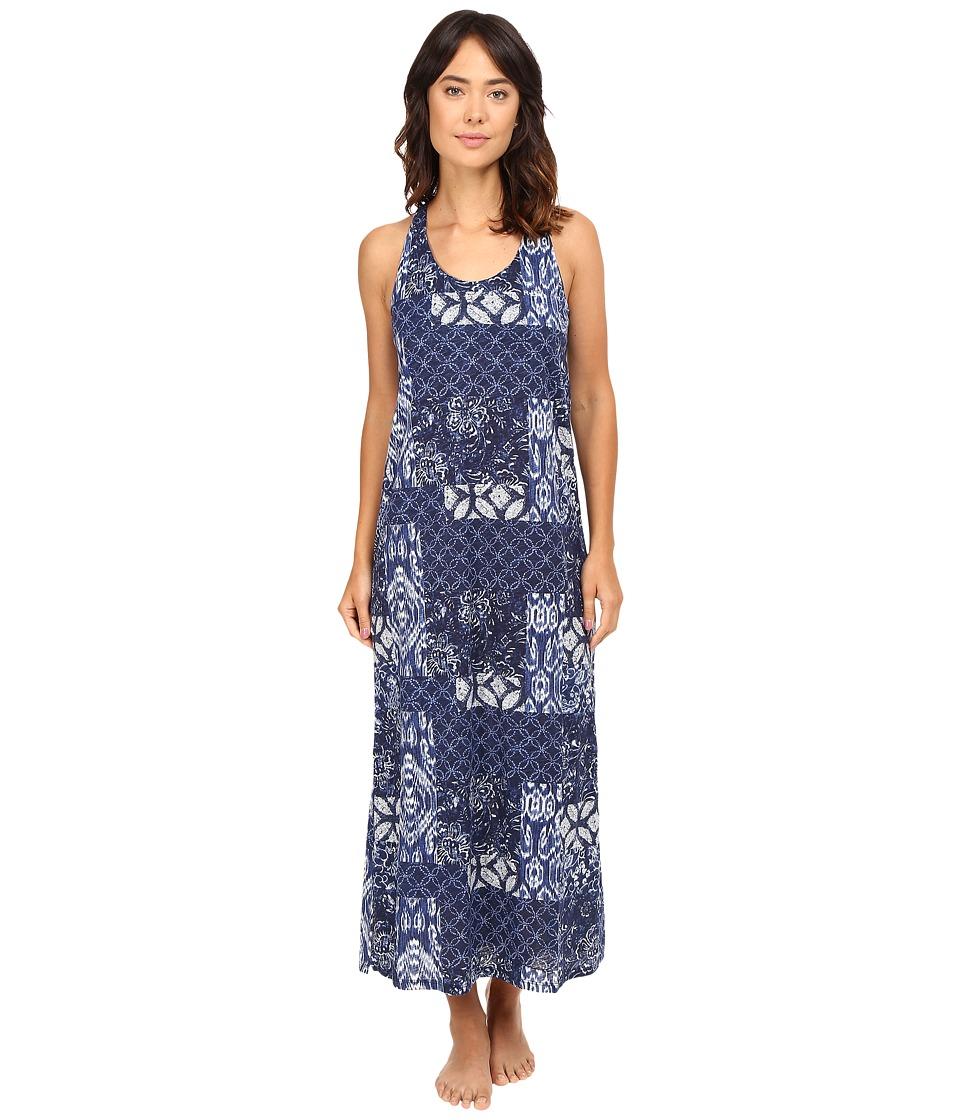 LAUREN Ralph Lauren - Maxi Gown (Patchwork Print) Women's Pajama