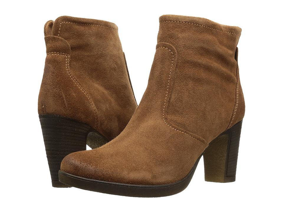 Tamaris - Cresta 1-1-25386-27 (Cognac) Women's Boots