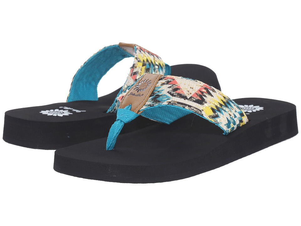 Yellow Box - Kaden (Turquoise) Women's Sandals